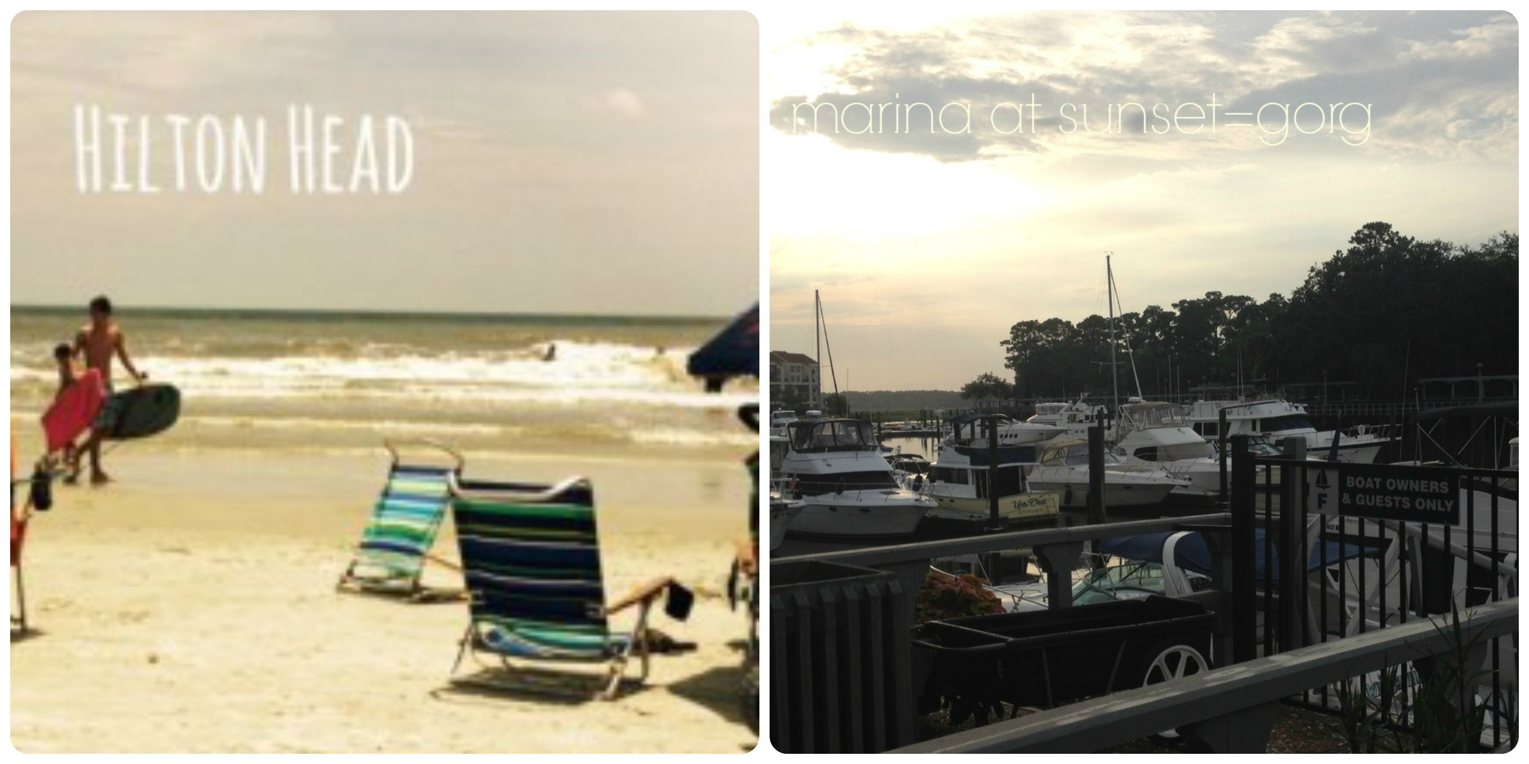 HIlton Head Collage