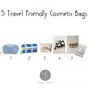 5 Travel Friendly Cosmetic Bags (1)