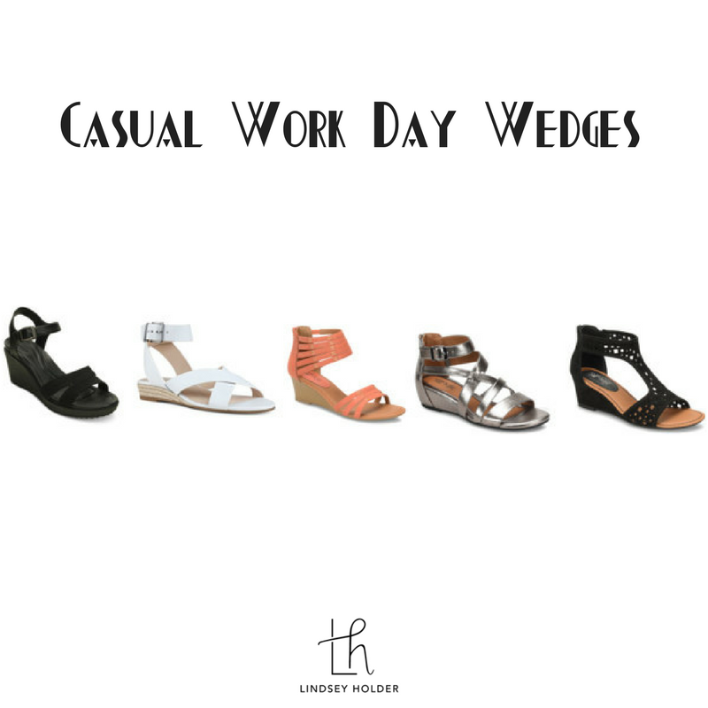 Casual Work Day Wedges