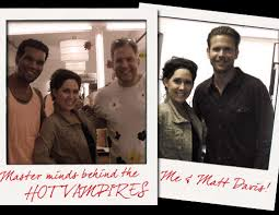 Lindsey and Vampire Diaries set