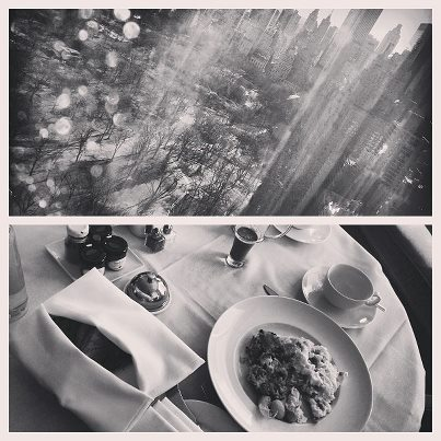 Image Credit: SaraView outside Mandarin Oriental hotel with breakfast:)