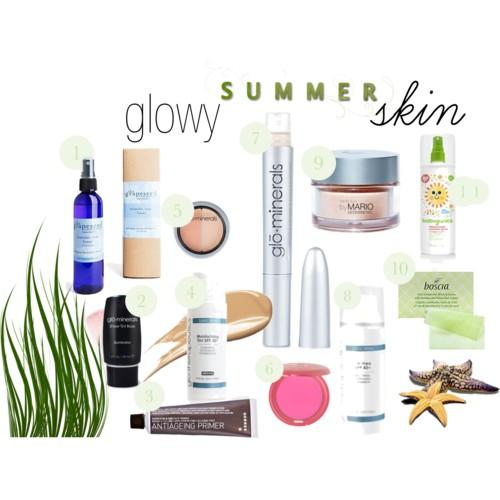Glowy Summer Skin