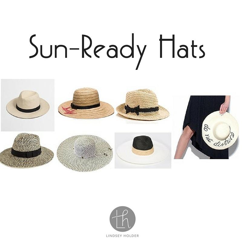 Sun-Ready Hats