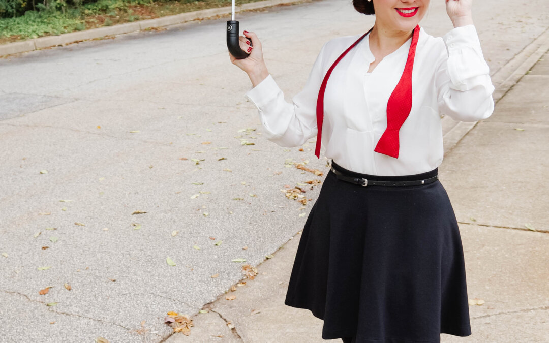 The Modern Mary Poppins Work Halloween Costume