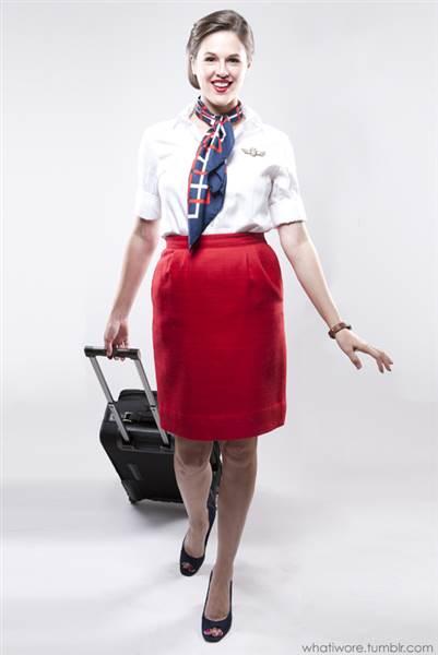 Flight Attendant Work appropriate Halloween Costume