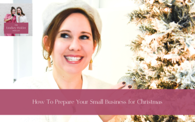 Podcast Episode 31: How to Prepare Your Small Business for Christmas