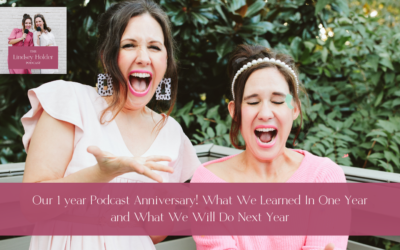 Podcast Episode 33: Our 1 year Podcast Anniversary! What We Learned In One Year and What We Will Do Next Year
