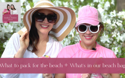 Podcast Episode 45: What to Pack for a Beach Vacation + What's in Our Beach Bag